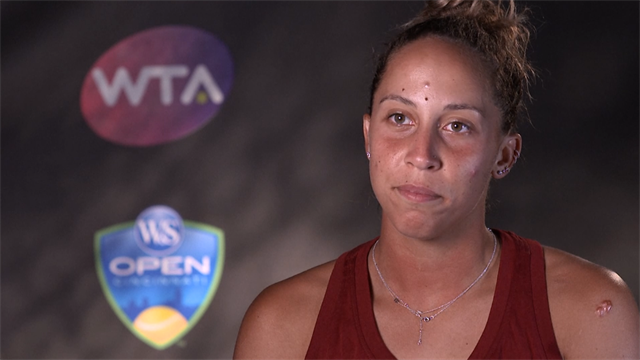 Madison Keys delighted with top 10 ranking after bouncing back in style
