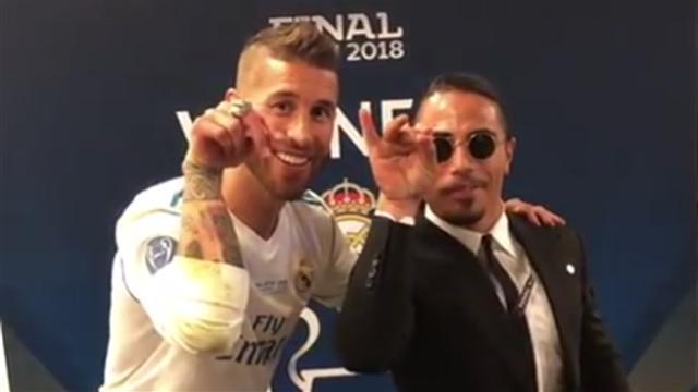 La conversación en 'spanglish' de Sergio Ramos y 'Salt Bae' que se ha hecho viral
