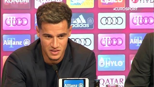 Das sind Coutinhos erste Worte als neuer Bayern-Star