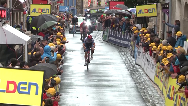 Healy s'impose lors de la 5e étape, Guglielmi reste en jaune