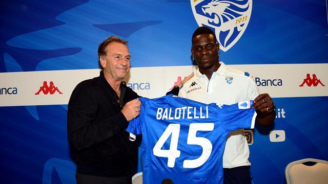 """Balotelli : """"Ça aurait un rêve pour mon père de me voir jouer ici"""""""