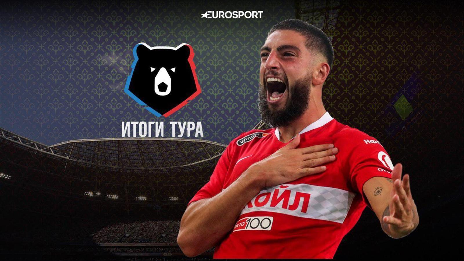 Итоги 6-го тура РПЛ: победа «Спартака» в дерби, спорное судейство на матче «Зенита»
