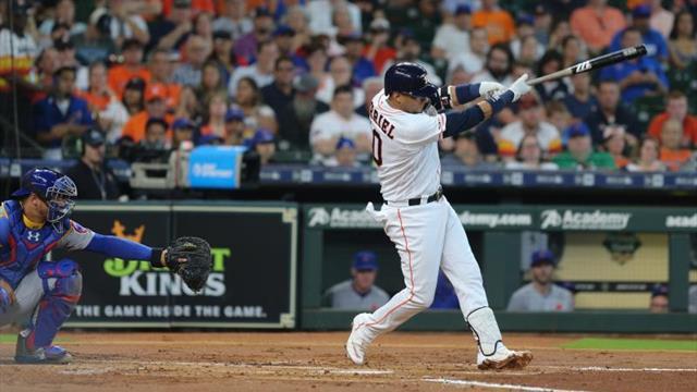 5-4. Gurriel lidera ataque de los Astros que ganan con suspense