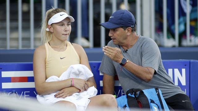 Amanda Anisimova forfait à New York après le décès de son père
