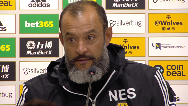Nuno: We'll be afraid to celebrate a goal due to VAR