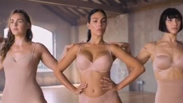 Джорджина снялась в рекламе нижнего белья – девушка Роналду исполняет страстные танцы