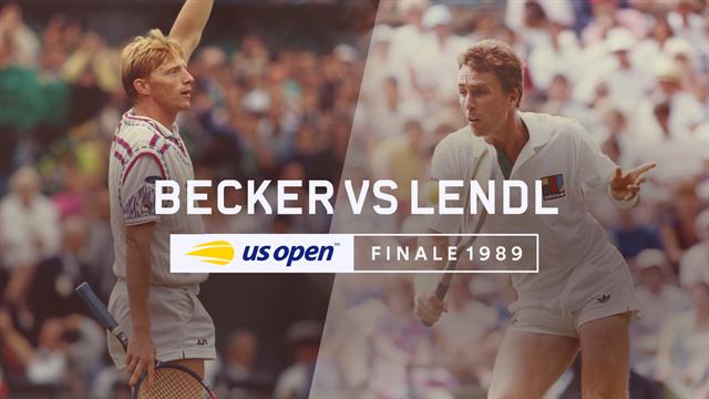 Partidos de leyenda en el US Open: 30 años de la gran final Lendl-Becker