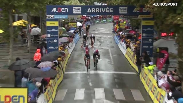 Dopo la maglia a pois, anche la maglia gialla: Giovanni Aleotti protagonista al Tour de l'Avenir