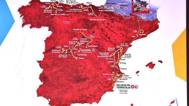 Die 21 Etappen der Vuelta im Strecken-Video: So sieht der Kurs 2019 aus