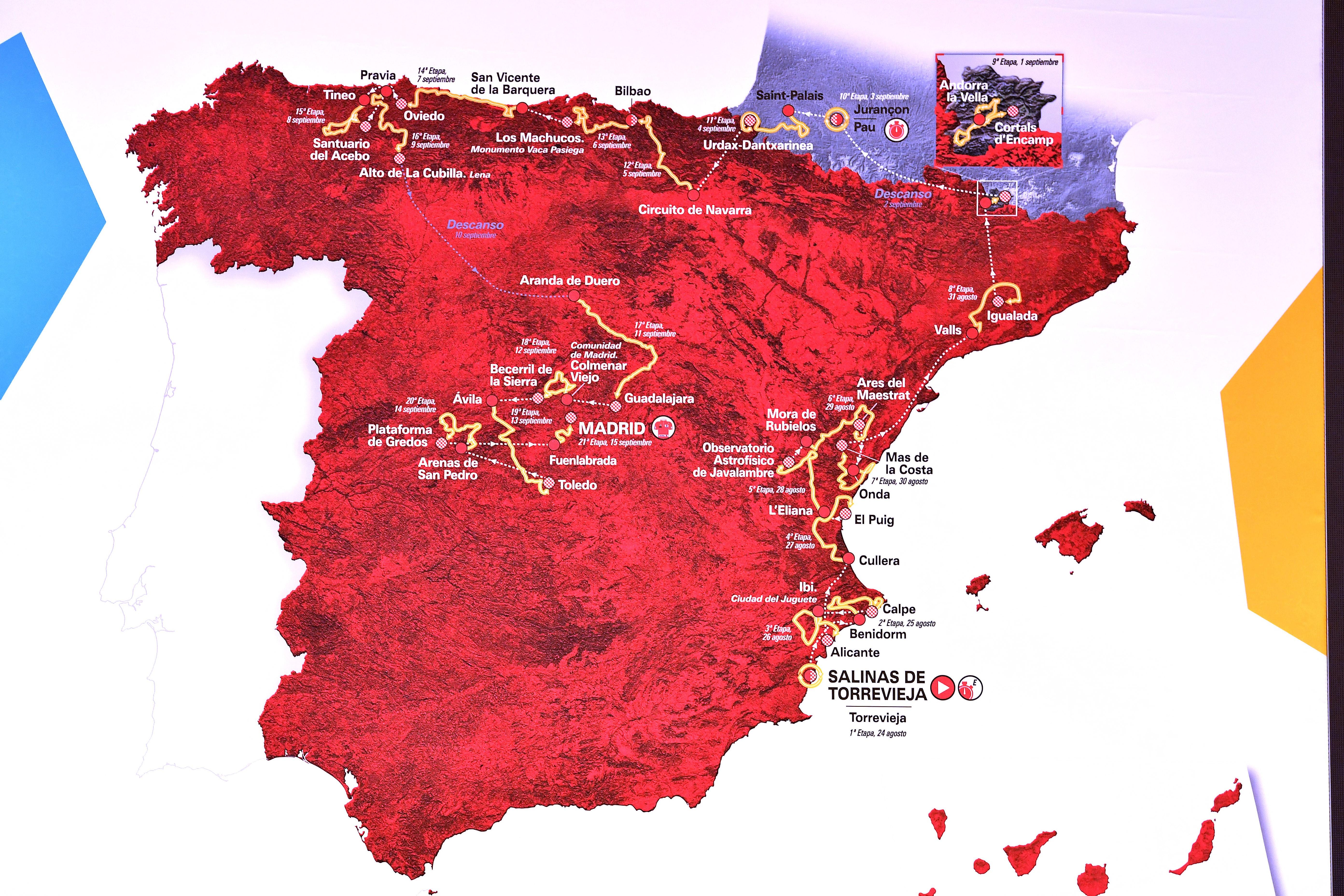 Vuelta Route