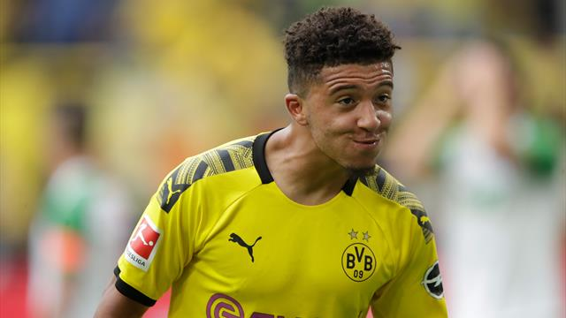 Borussia Dortmund to double Sancho's salary