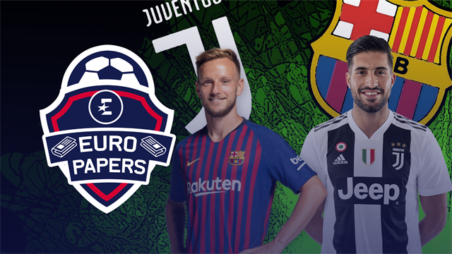 Euro Papers: Juventus and Barcelona consider swapping FIVE players