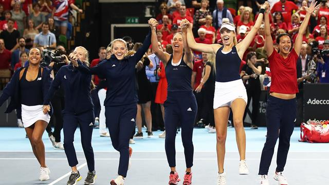 Great Britain to face Slovakia in Fed Cup finals qualifier