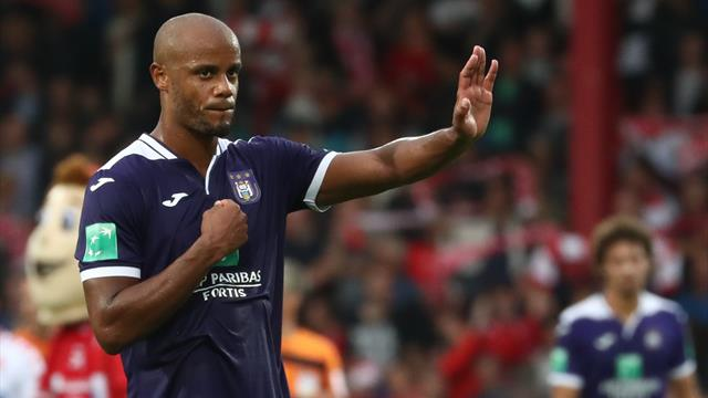 Kompany Relinquishes Managerial Role at Anderlecht