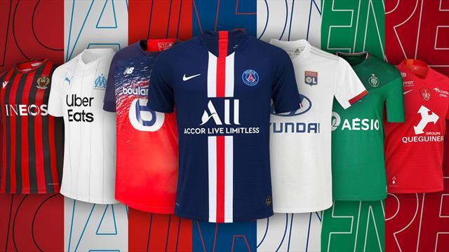 PSG, OM, OL, Nîmes ou Angers : Quel est le plus beau maillot de Ligue 1 ? Réponse à 15h