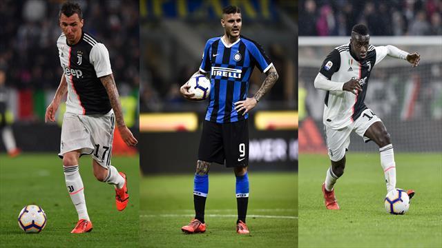 Liste Champions e tagli di lusso: da Mandzukic a Icardi, i guai di Juventus, Inter e Napoli