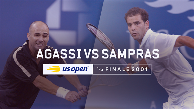 US Open, Legends Matches: quarti di finale 2001 - Sampras vs Agassi