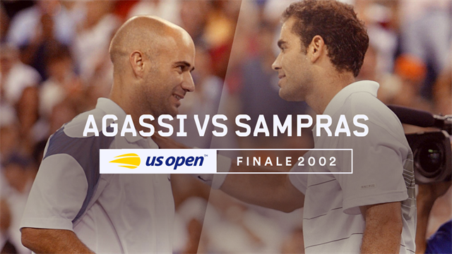 US Open, Legends Matches: Finale 2002 - Agassi vs Sampras