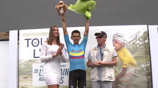 Tejada Canacue remporte la 7e étape, le Belge Vansevenant en jaune