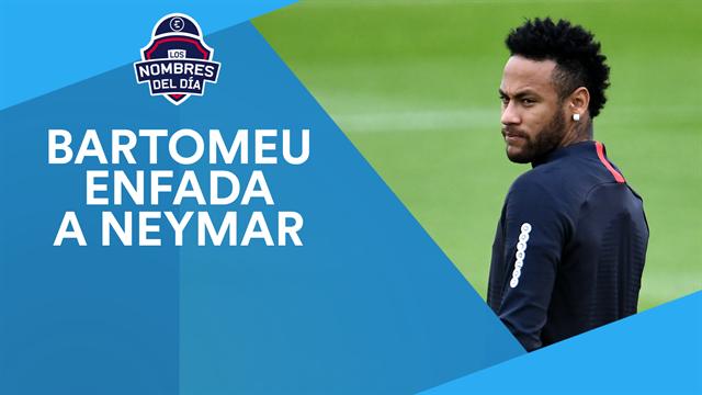 Neymar, la cláusula del 'miedo', Correa, De Paul y Torres, los nombres del día