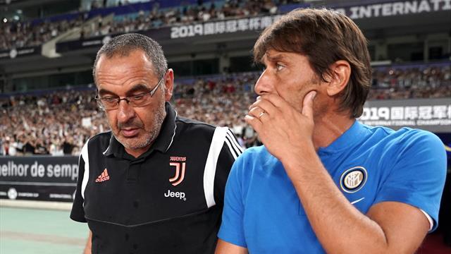 La griglia del campionato di Eurosport: Juve da scudetto, Inter seconda, Milan out dalla Champions