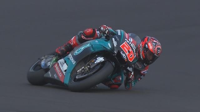 GP Groot-Brittannië  Quartararo zet snelste tijd neer in FP1