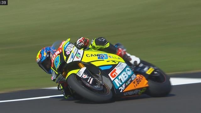 GP Groot-Brittannië| Navarro zet snelste tijd neer in FP2 van Moto2