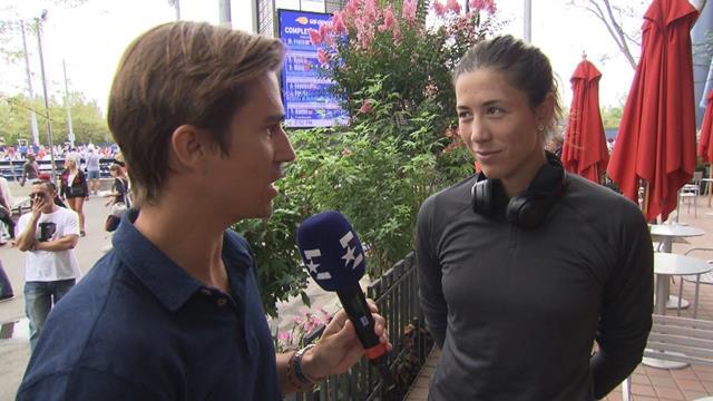 """US Open 2019, Garbiñe: """"Es una alegría tener a Anabel Medina en mi banquillo"""""""