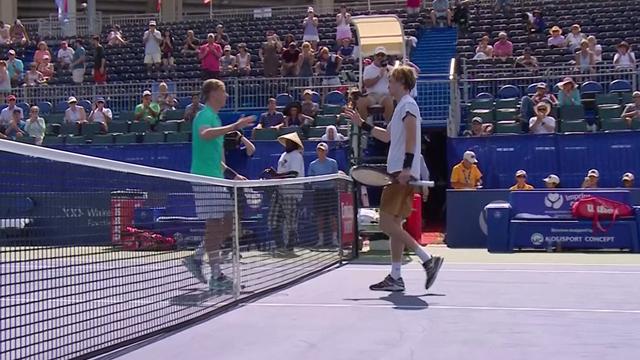 Шаповалов остановил Рублева в четвертьфинале – Андрей снова много ругался и мазал