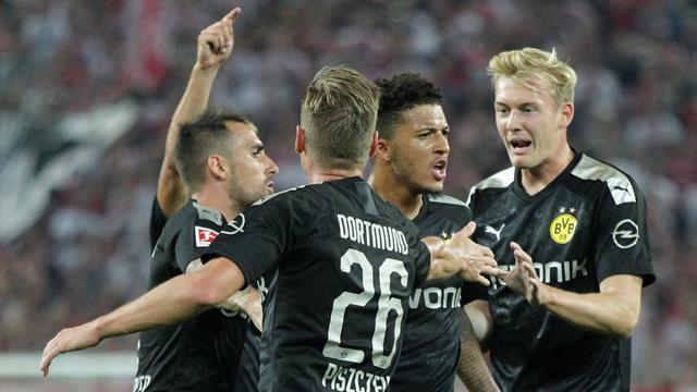 Sancho stars again in Dortmund comeback win