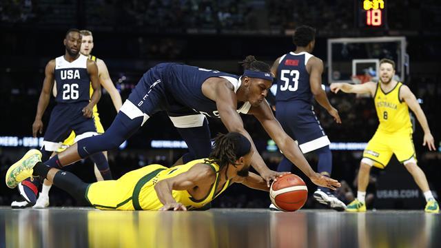 Dopo 13 anni e 78 vittorie in fila, Team USA torna a perdere: l'Australia vince 98-94 in amichevole