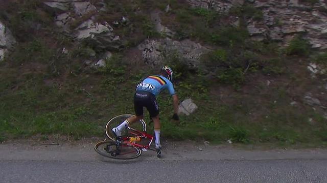 Tour de l'Avenir: Despiste y caída de Van Wilder a tres kilómetros para meta