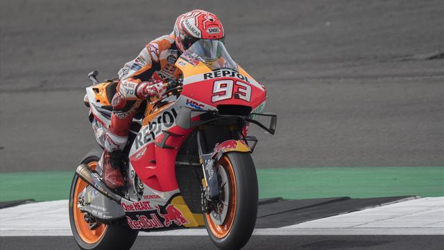 Marquez en pole devant Rossi, déception pour Quartararo