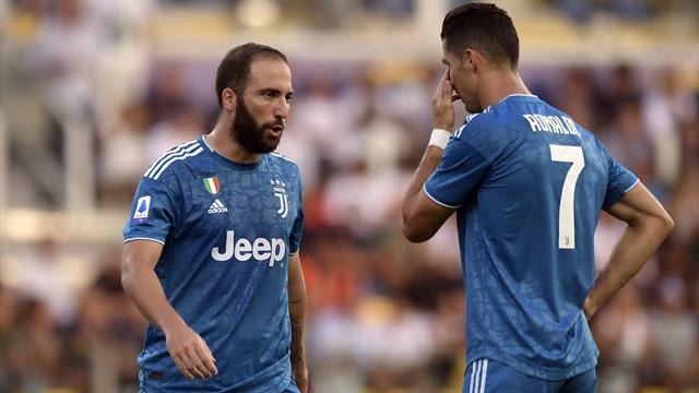 Le pagelle di Parma-Juventus 0-1: Chiellini capitano decisivo, Higuain e Douglas ottimo impatto