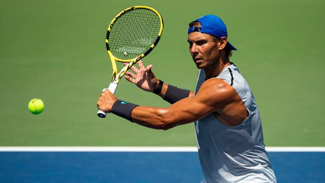 US Open 2019: Nadal avisa con un puntazo ante Lajovic ¡y solo es un entreno!