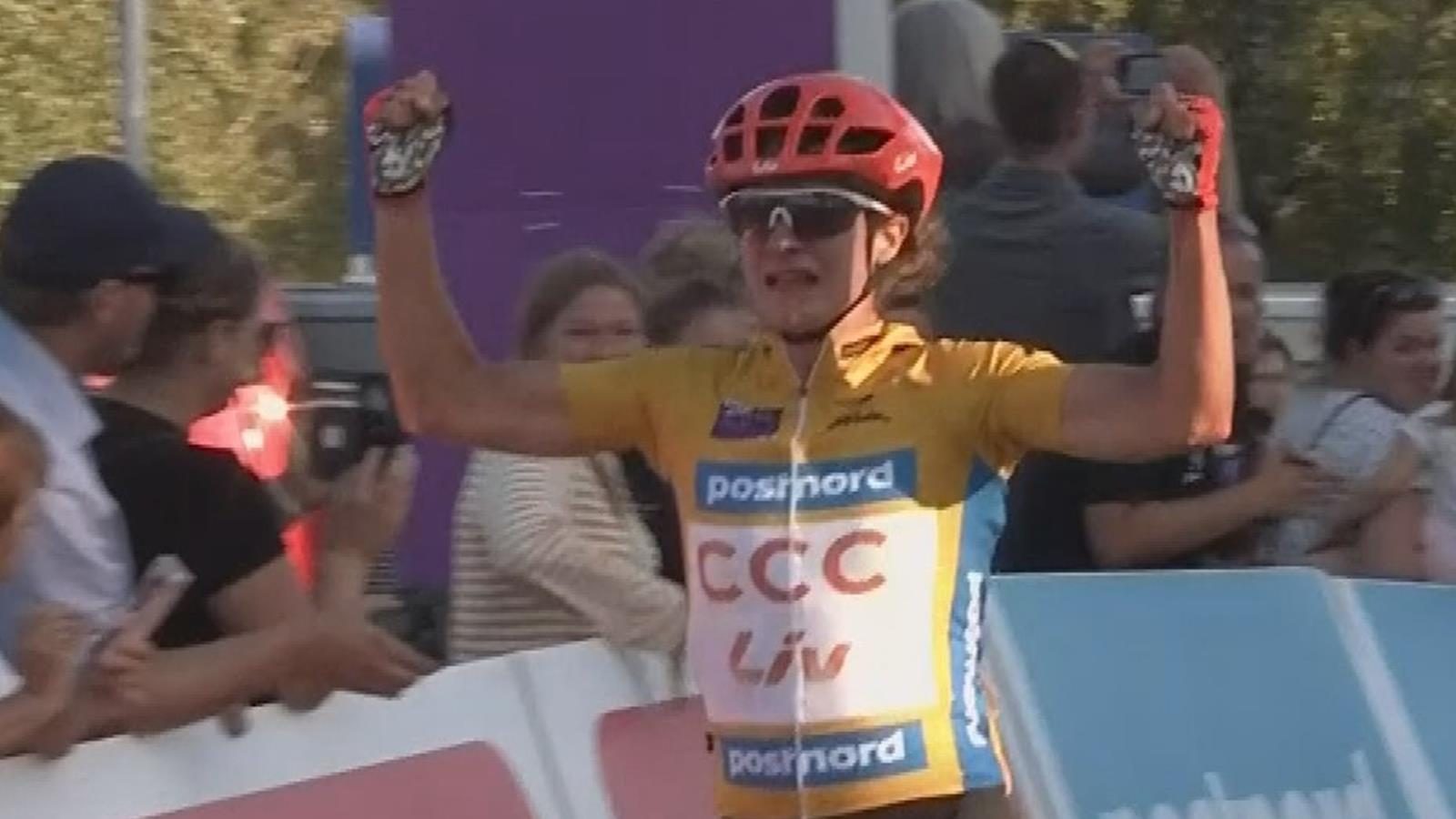 Marianne Vos wint weer in Womens Tour of Norway