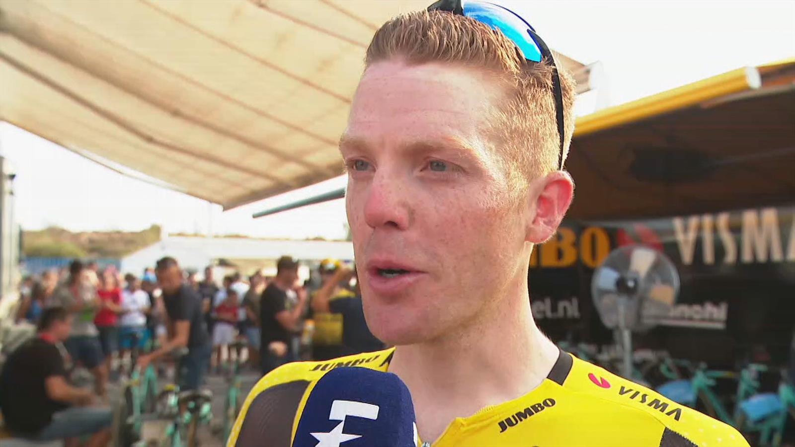 """Steven Kruijswijk over ploegentijdrit Ronde van Spanje: """"Geen grote verschillen"""""""