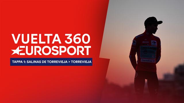 """""""Vuelta 360"""", tappa 1: Inizio col botto, Jumbo-Visma e UAE in terra, Miguel Angel Lopez in Roja"""