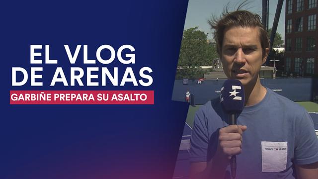 Vlog de Arenas: Garbiñe prepara su asalto al US Open junto a Anabel Medina