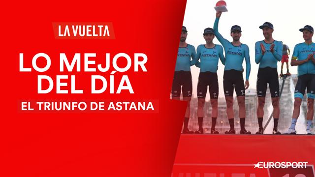 Vuelta a España2019 (1ª etapa), lo mejor del día: Del triunfo de Astana, a la caída de Jumbo-Visma