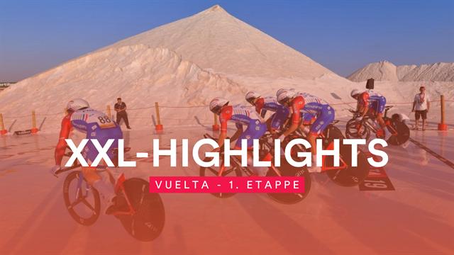 Sekundenkrimi mit Sturz-Chaos zum Vuelta-Start