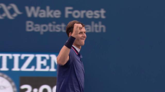 Хуркач справился с Пэром и выиграл первый турнир ATP в карьере