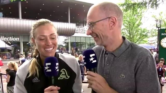 Kerber vor US Open exklusiv bei Eurosport: Das ist mein neues Motto