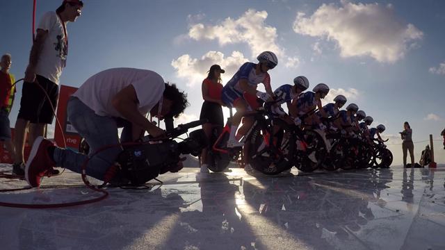 De mooiste on-board beelden uit etappe 1 van de Vuelta a Espana