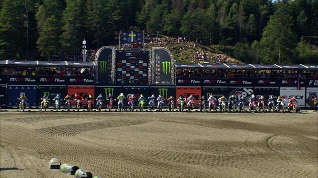 GP Suecia MXGP: Vídeo resumen de la primera carrera