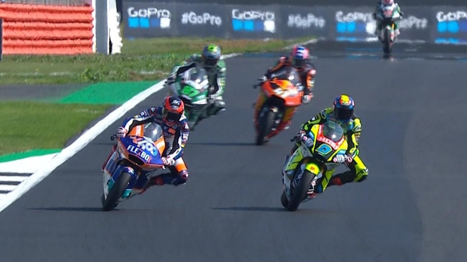 MotoGP Groot-Brittannië: Augusto Fernandez wint bij Moto2