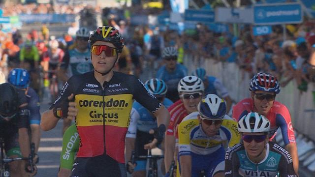 Belgium's Merlier wins Stage 5 of Tour of Denmark