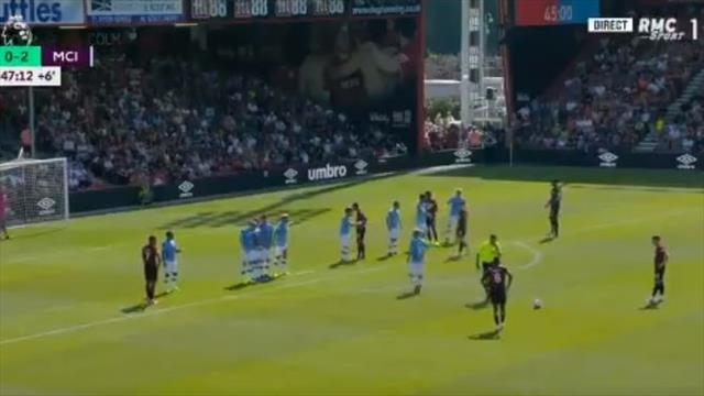 «Сити» забил три, но гол «Борнмута» со штрафного получился самым красивым
