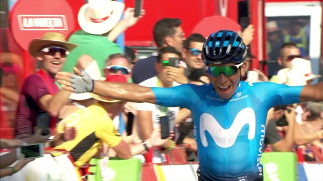 Ireland's Nicolas Roche leads Vuelta after Stage 2