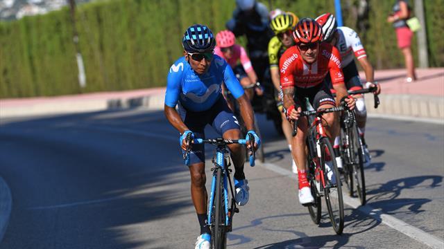 Miguel Angel Lopez già staccato: tappa a Quintana, Roglic e Aru recuperano terreno